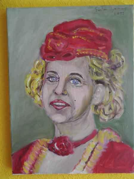 Porträtbilder von Kunstmaler Günter Thomas